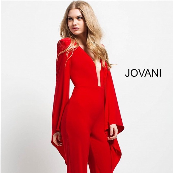 f7105e042c4c Jovani Jumpsuit. IN COLOR IVORY. New with tags.